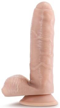 Телесный фаллоимитатор Tony The Waiter - 17,8 см.
