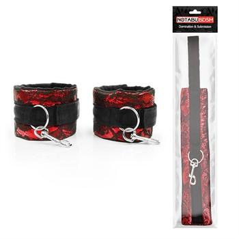 Красно-черные оковы с карабинами
