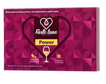 Женский возбудитель мгновенного действия Forte Love Power - 7 ампул (2,5 мл.)