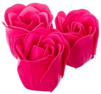 Мыльные розочки в коробке-сердце  Сделано с любовью!  - 3 шт.
