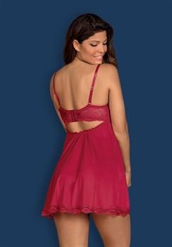 Роскошная короткая сорочка Rosalyne с кружевом