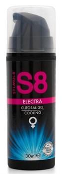 Клиторальный гель с охлаждающим эффектом Stimul8 Clitoral Electra Cooling - 30 мл.