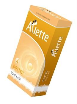 Презервативы Arlette Dotted с точечной текстурой - 12 шт.