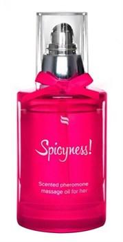 Массажное масло с феромонами Spicy - 100 мл.