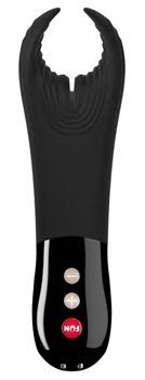 Черный фаллостимулятор Manta с вибрацией