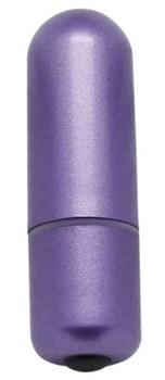 Фиолетовая вибропуля 7 Models bullet - 5,7 см.