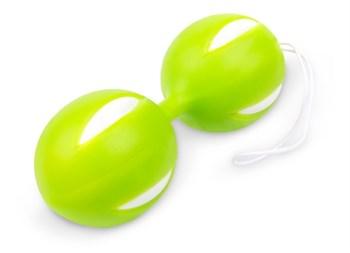 Зеленые вагинальные шарики с петелькой