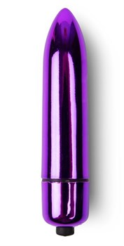 Фиолетовая вибропуля с заостренным кончиком