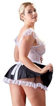 Ажурный сексуальный костюм горничной