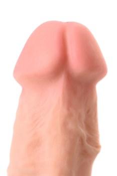 Телесный фаллоимитатор-реалистик Damon - 20 см.