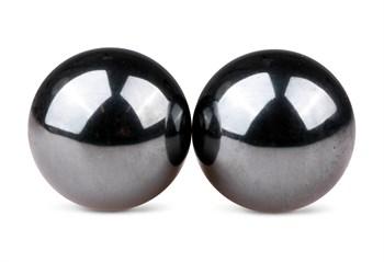 Темно-серые вагинальные шарики без сцепки Ben Wa Balls