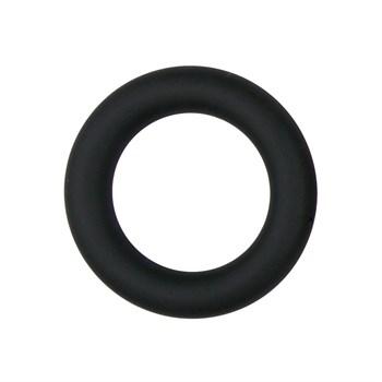 Черное эрекционное кольцо Silicone Cock Ring Small