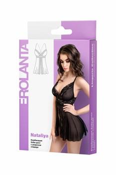 Сорочка бэби-долл с разрезом спереди Nataliya
