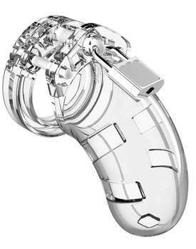 Прозрачный мужской пояс верности Cock Cage Model 01 Chastity