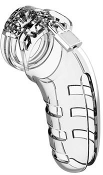 Прозрачный мужской пояс верности Cock Cage Model 06 Chastity