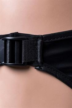 Черные трусики для страпона Domino