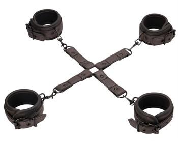 Набор наручников и поножей Elegant Hogtie