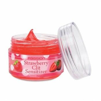 Гель для стимуляции клитора Passion Strawberry Clit Sensitizer - 45,5 гр.