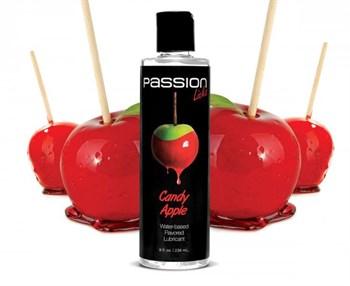 Смазка на водной основе Passion Licks Water Based Flavored Lubricant со вкусом яблока - 236 мл.