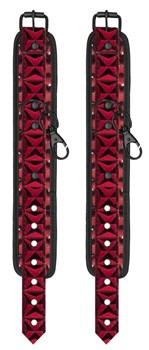 Красно-черные поножи с фиксатором Luxury Spreader Bar