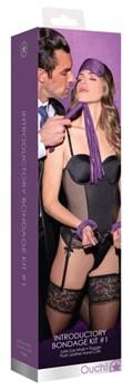 Фиолетовый набор для бондажа Introductory Bondage Kit №1