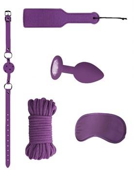 Фиолетовый игровой набор Introductory Bondage Kit №5