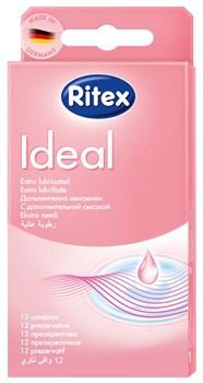 Презервативы RITEX IDEAL с дополнительной смазкой - 12 шт.