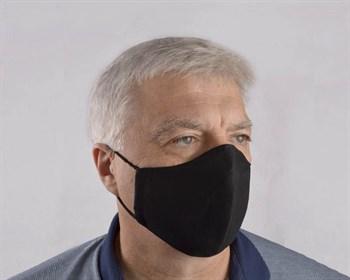 Черная мужская гигиеническая маска