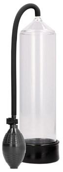 Прозрачная ручная вакуумная помпа для мужчин Classic Penis Pump