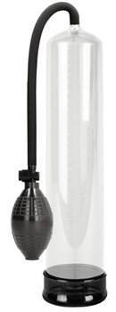 Прозрачная вакуумная помпа с насосом в виде груши Classic XL Extender Pump