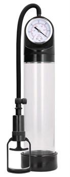 Прозрачная вакуумная помпа с манометром Comfort Pump With Advanced PSI Gaug