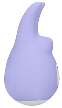 Фиолетовый клиторальный стимулятор Love Bunny - 9,4 см.
