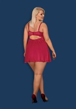 Роскошная сорочка Rosalyne с кружевом