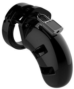 Черный мужской пояс верности Cock Cage Model 13 Chastity 2.5