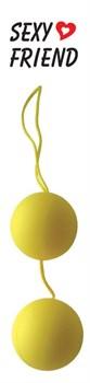Желтые вагинальные шарики BALLS