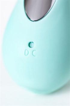 Мятный вакуум-волновой стимулятор клитора с язычком DINGO