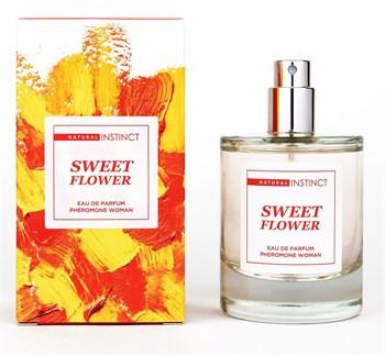Парфюмерная вода с феромонами Sweet Flower - 50 мл.