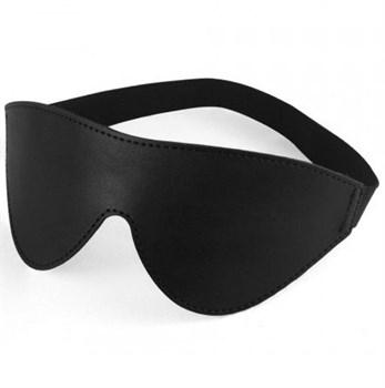 Сплошная черная маска без прорезей