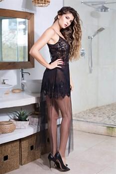 Длинное платье Ruby с кружевным лифом