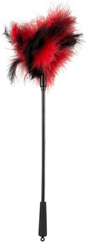 Черно-красная щекоталка - 38 см.
