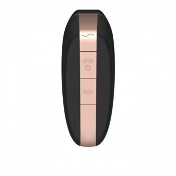 Черный вакуум-волновой вибростимулятор Satisfyer Love Triangle