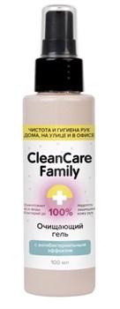 Очищающий гель с антибактериальным эффектом CleanCare Family - 100 мл.