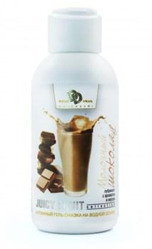 Интимный гель-смазка JUICY FRUIT с ароматом молочного шоколада - 100 мл.