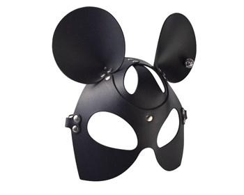 Черная кожаная маска  Мышка