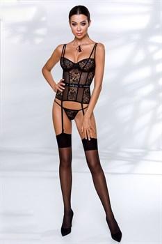 Очаровательный корсет Leticia с подвязками для чулок