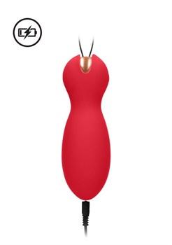 Красные вагинальные шарики Purity с пультом ДУ