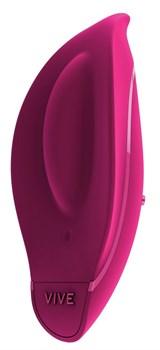Розовый клиторальный стимулятор Minu