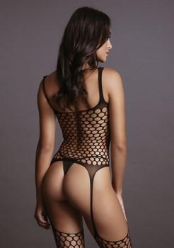 Пикантный боди-комбинезон Fence Suspender Bodystocking