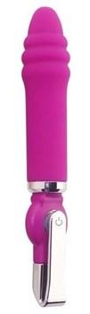 Розовый вибратор ALICE 20-Function Desire Vibe - 16 см.