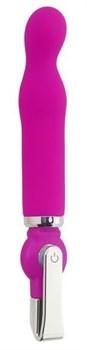 Розовый вибратор ALICE 20-Function G-Spot Vibe - 18 см.